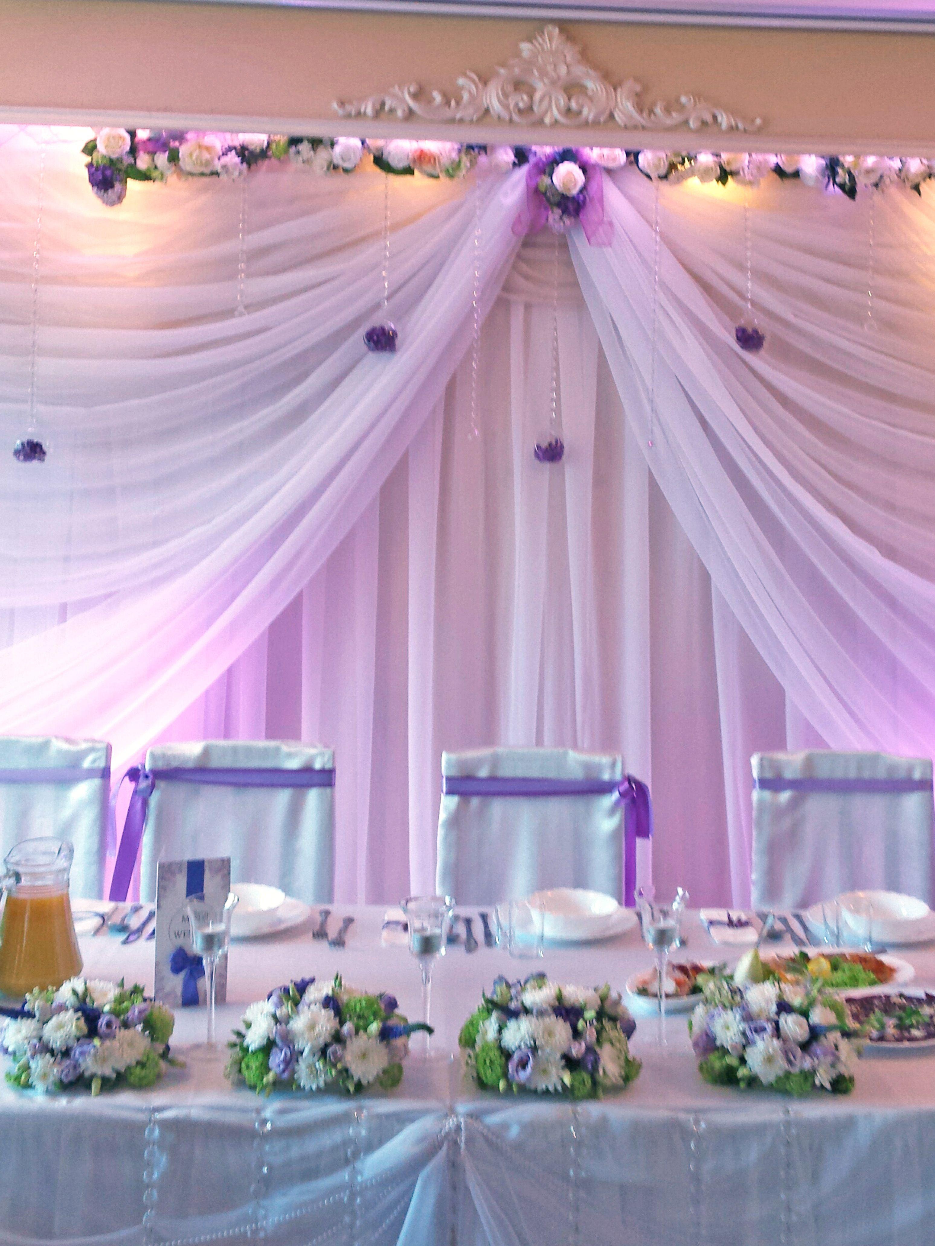 Dekoracja W Kolorze Bzu Florist Deco Olsztyn Dekoracje ślubne Sal