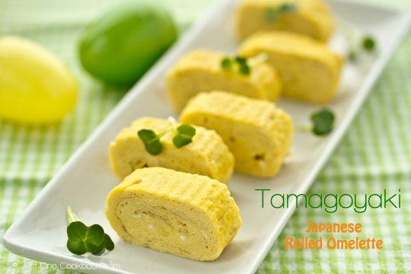 Tamagoyaki (Japanese Rolled Omelette) 玉子焼き | Easy Japanese Recipes at JustOneCookbook.com