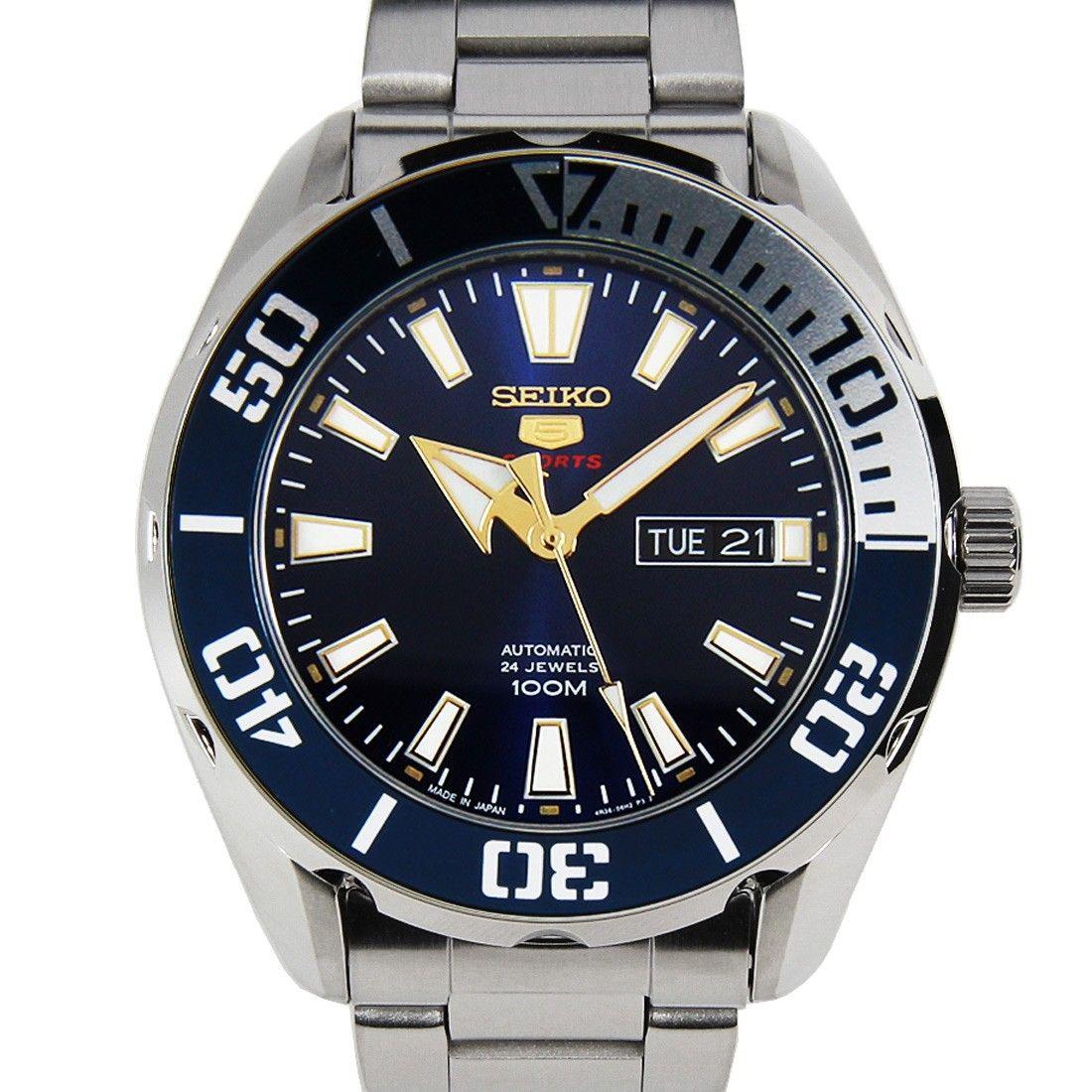 Seiko 5 Sports Automatic Watch SRPC51 SRPC51J1 Seiko 5