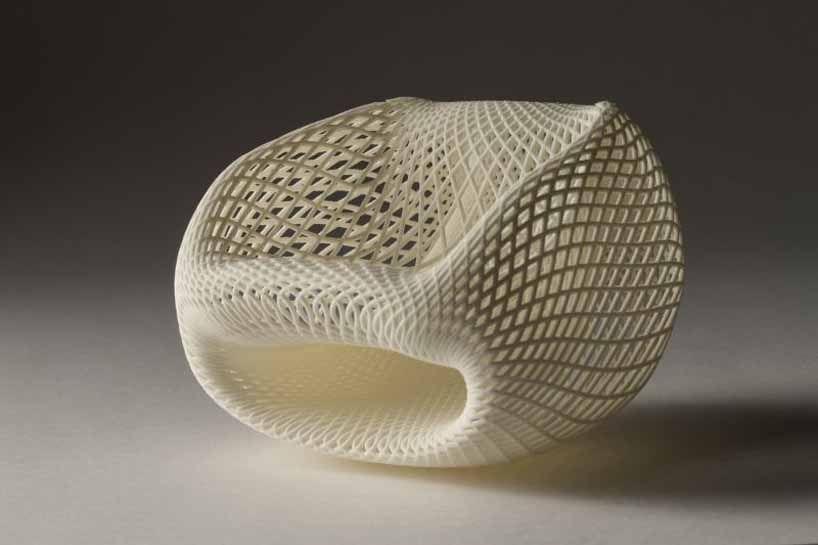 Keisuke Fujiwara Wrapping Chair Molded From Styrofoam