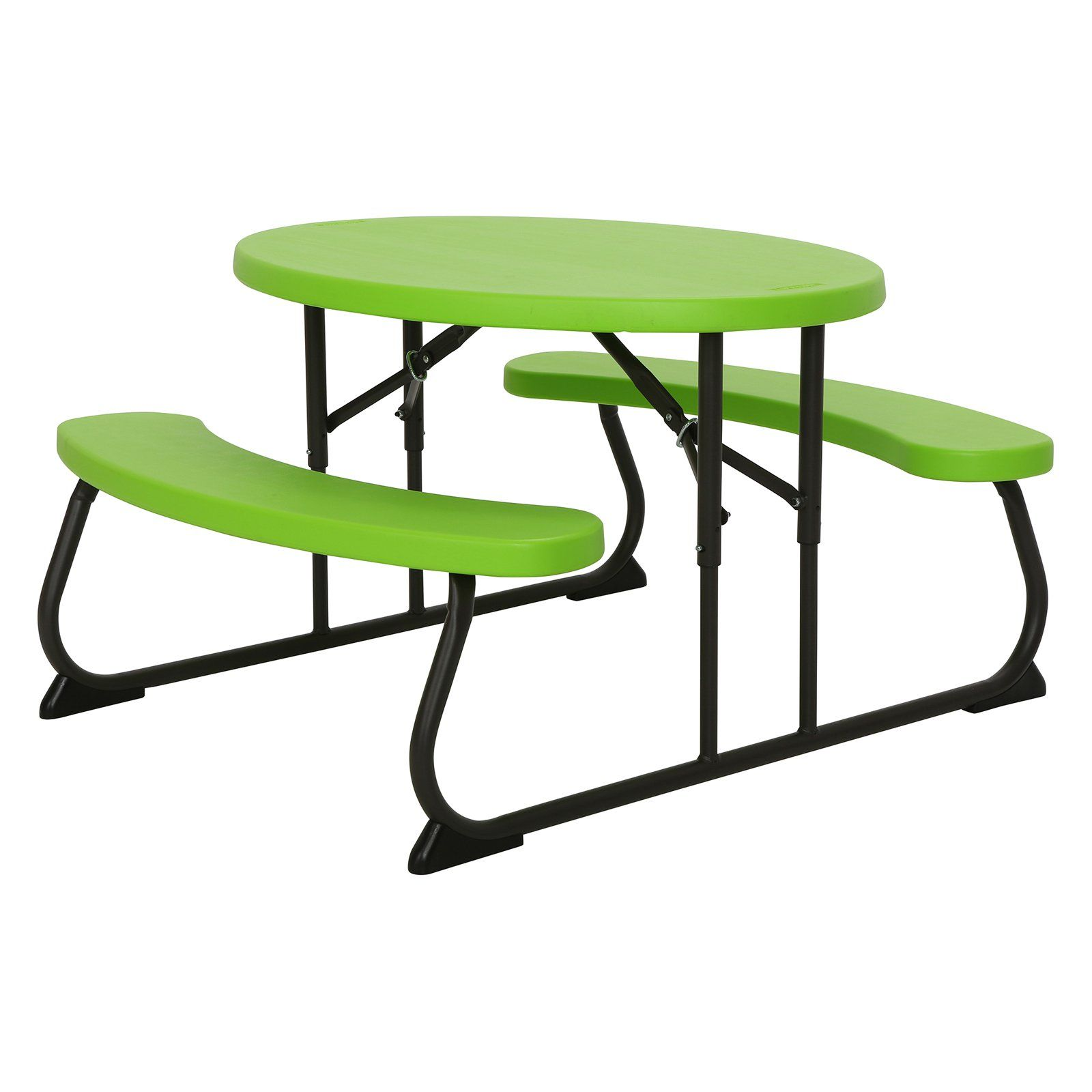 - Outdoor Lifetime Products Childrens Folding Picnic Table Glacier