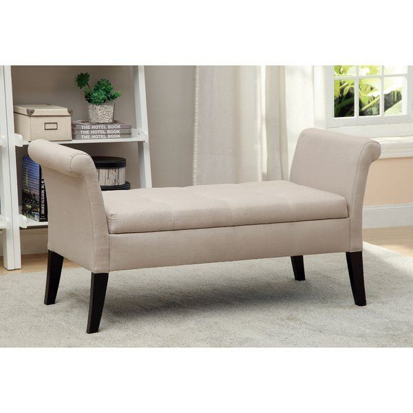 Varian Upholstered Storage Bedroom Bench Birchlane: Kamila Upholstered Storage Bench In 2019