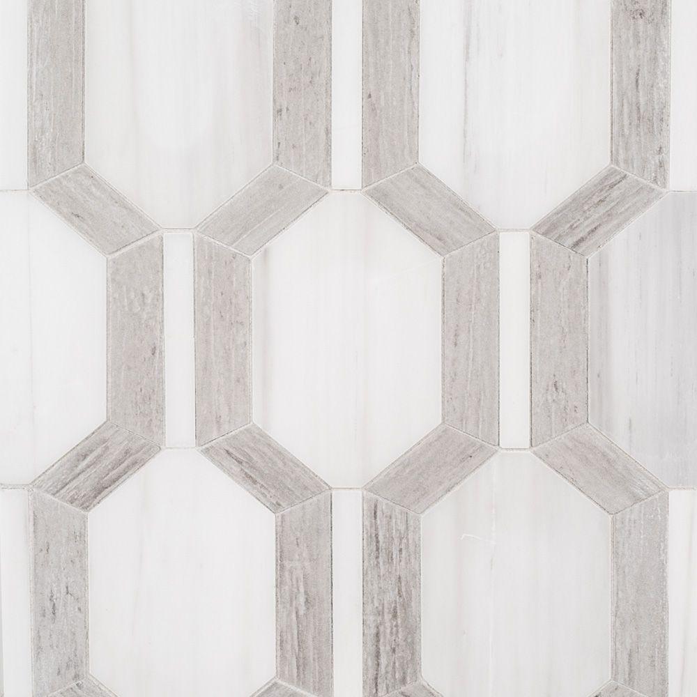 Montgomery Mosaic 10 X 13 Beige Jeffrey Court Showroom Designer Collection White Mosaic Tiles Mosaic Mosaic Tiles