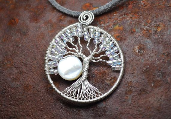 Use the coupon code IHEARTYOU at checkout to get 20% off your entire order, AND a free pair of handmade earrings designed just to match your purchase! 2/14 is the final day, so don't miss out!  Small Wire Wrapped Tree of Life Pendant Silver by LoneWolfBoutique, $22.00