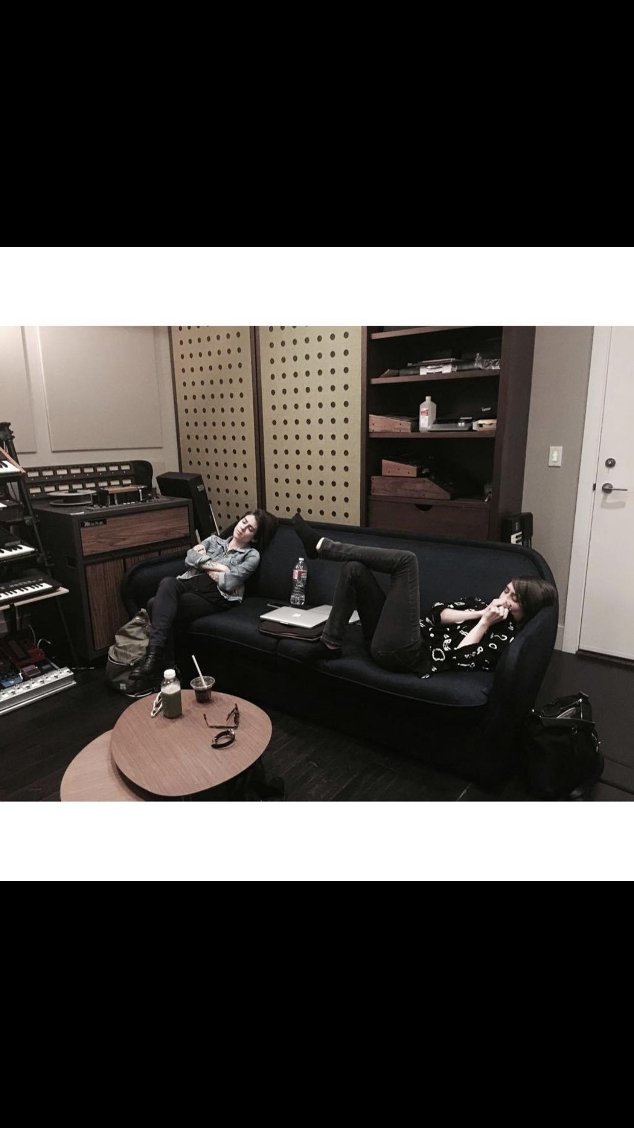 Tegan And Sara In Studio Working On LP9