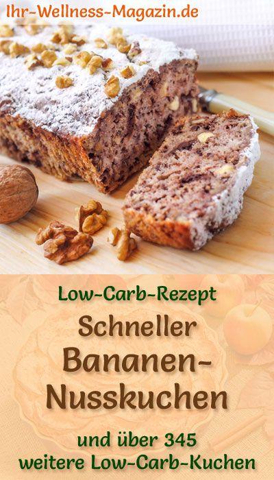 Photo of Schneller, einfacher Low Carb Bananen-Nusskuchen – Rezept ohne Zucker