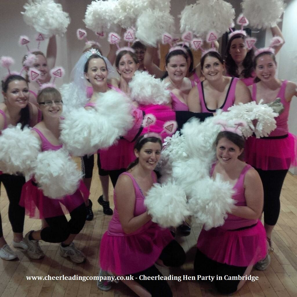 What cute outfits! Well done girls! #Cheerleading Hen Parties with ...