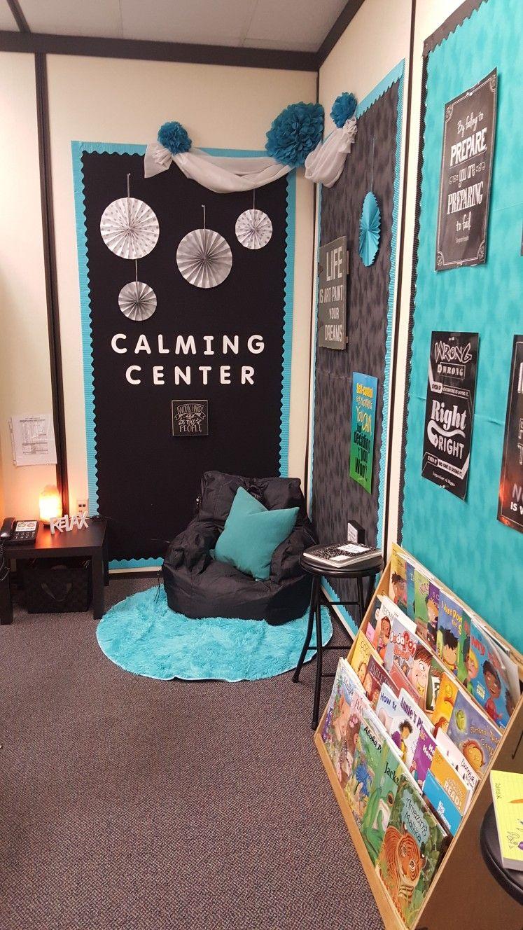 Counselor S Corner Calming Center School Counseling Office School Counselor Office Decor Counseling Office Decor