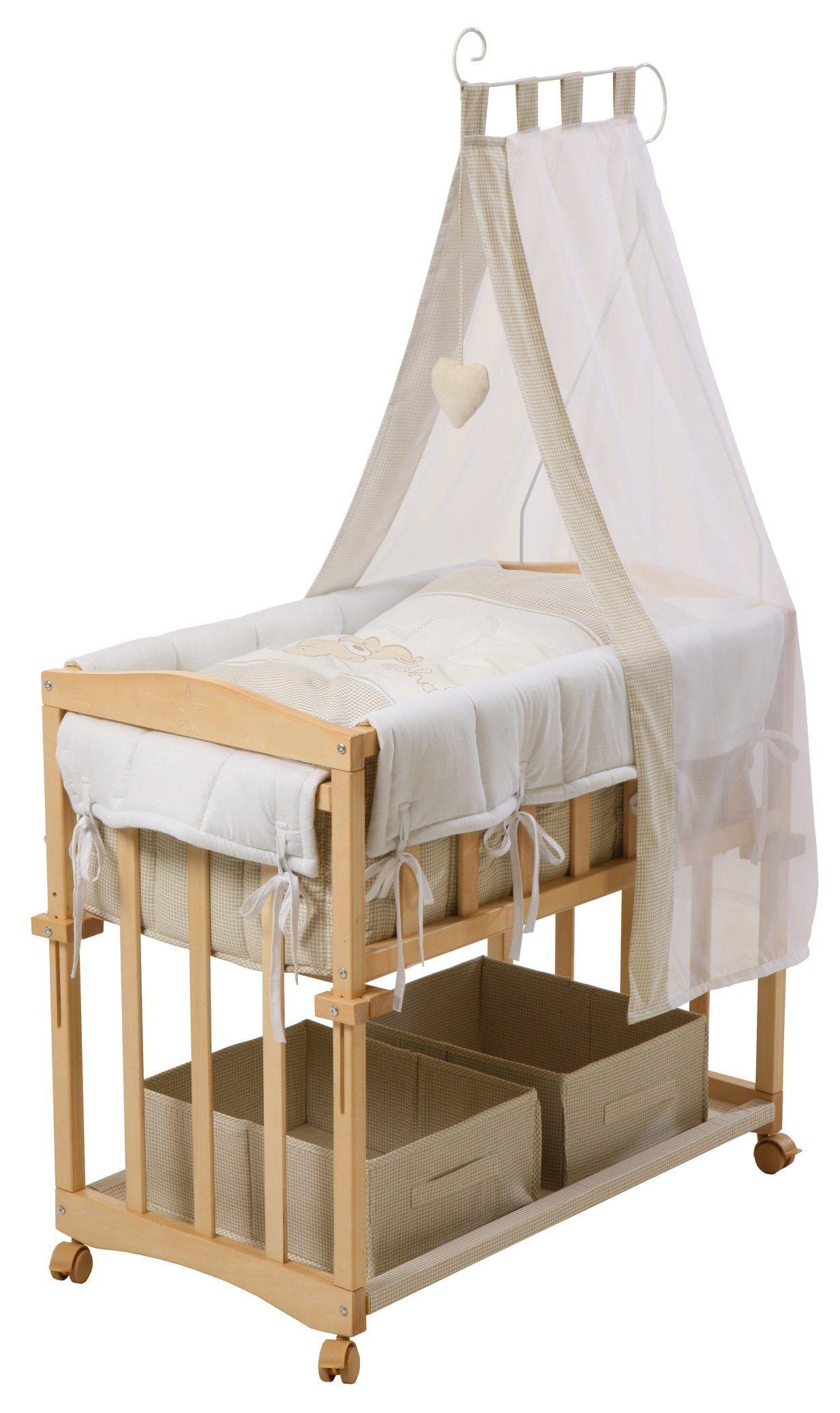 Roba Beistellbett Stubenbett 4 In 1 Liebhab B R Babybett Wiege In 2020 Baby Bed Home Decor Home