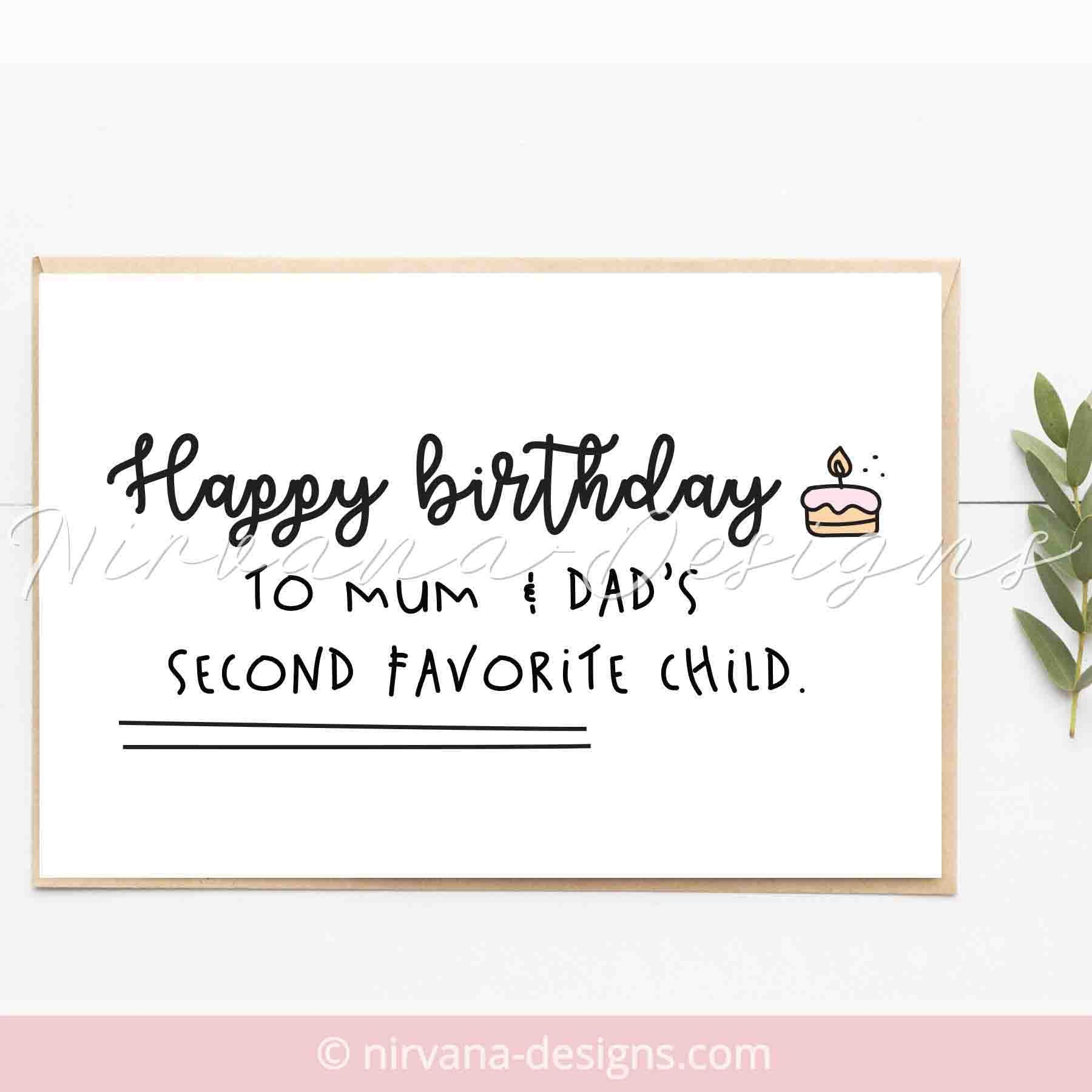 Brother Birthday Card Funny Happy Birthday Cards For Sister Sarcastic Birthday C Birthday Cards For Brother Birthday Gifts For Brother Happy Birthday Brother