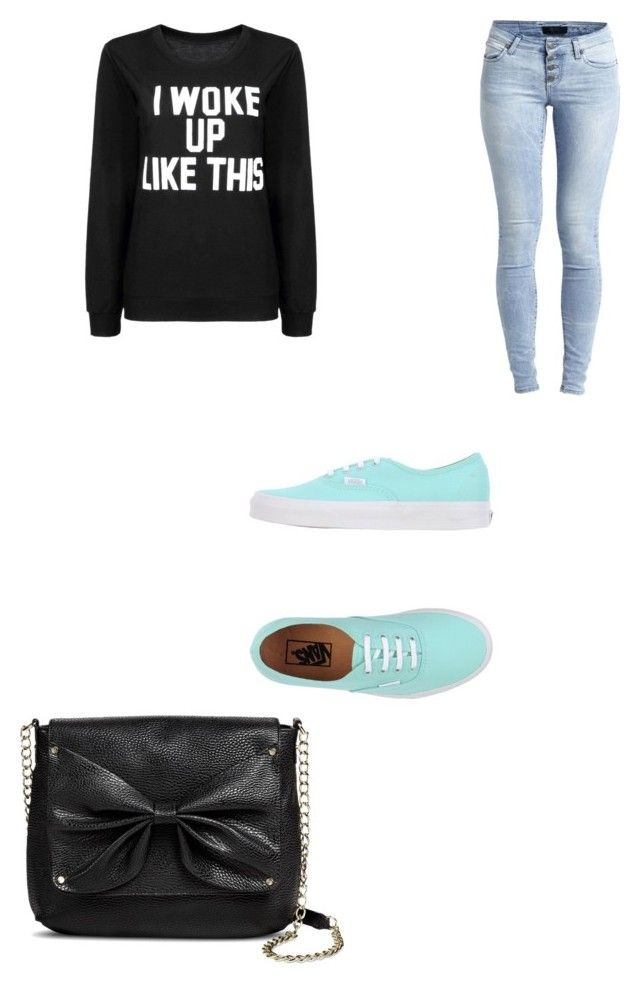 """""""simple but cute outfit"""" by a-50s-girl-at-heart0215 ❤ liked on Polyvore featuring Object Collectors Item, Vans and Sam & Libby"""