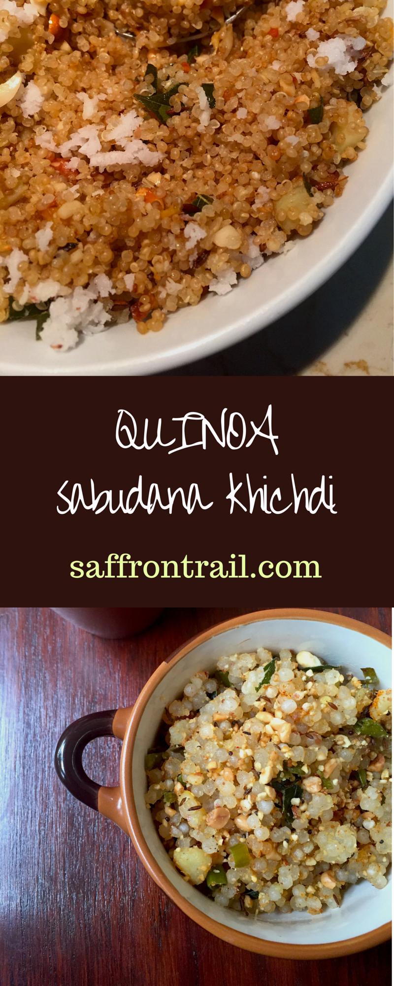 Healthy Sabudana Khichdi With Quinoa Recipe Vegetarian Recipes Healthy Easy Sabudana Khichdi Farali Recipes