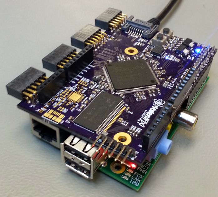 The FPGA add-on boards use Xilinx Spartan 6 LX9 FPGAs, offer