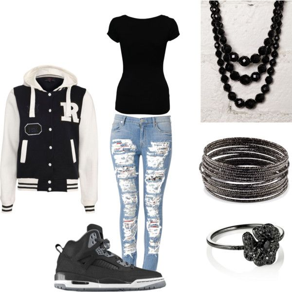 polyvore outfits for teenage girls with jordans , Google Search