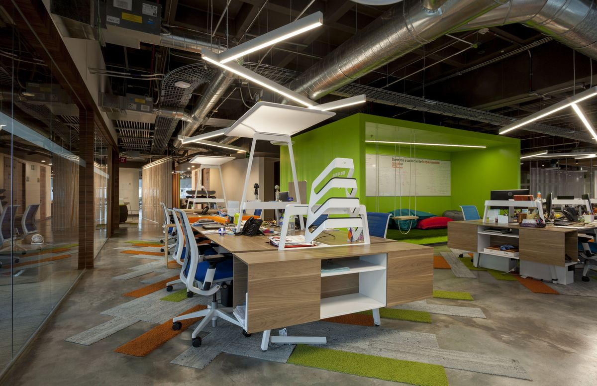 Gentera innovation lab offices in mexico city featuring for Innovation lab