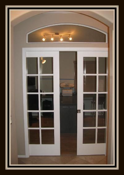 Sliding French Pocket Doors pocket doors | interior french & pocket door installation