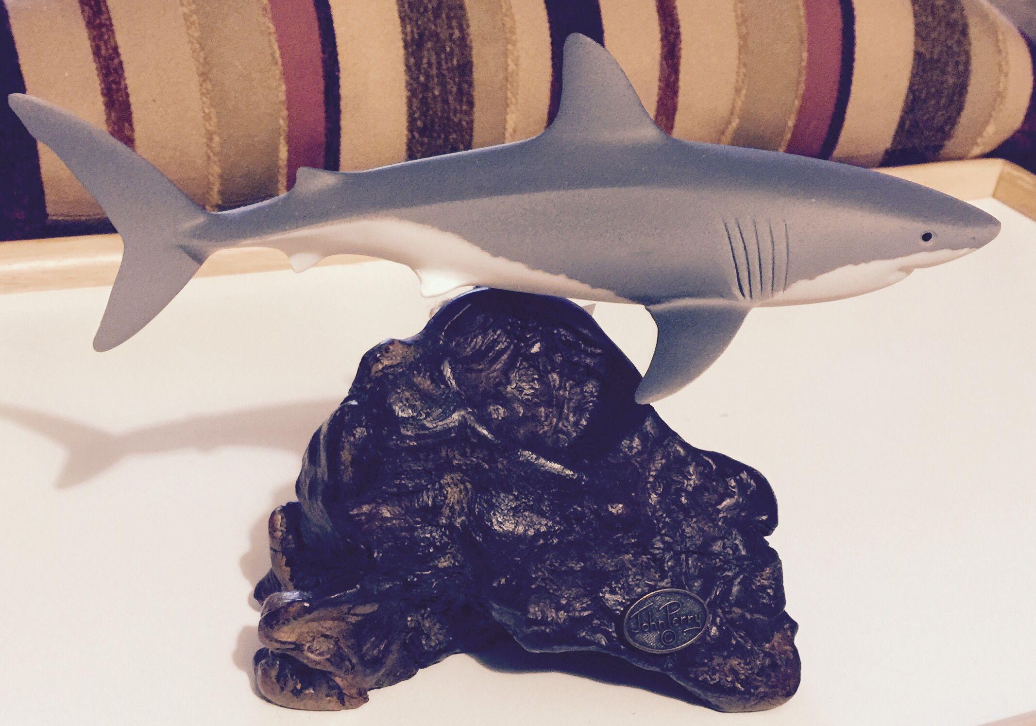 john perry artist shark