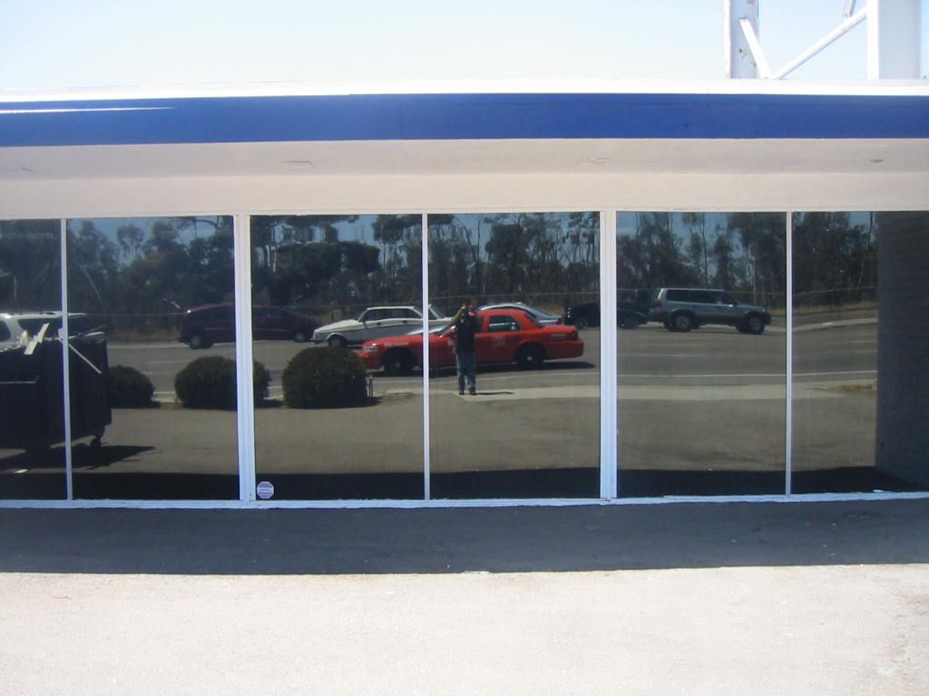 Commercial window tinting san diego, ca Dual Reflective 5% Privacy ...