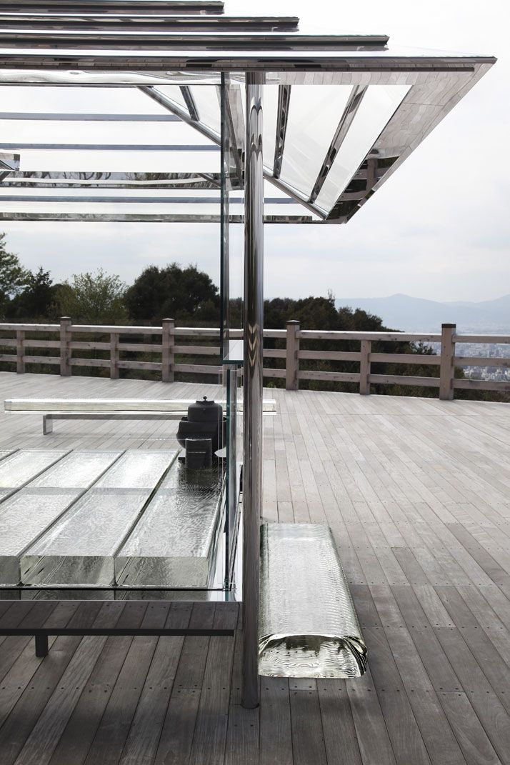 Making Time Visible: Tokujin Yoshioka's Glass Tea House in Kyoto, Japan
