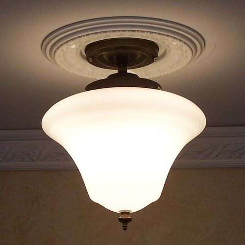 Possible Fixture Over Dining Room Table Schoolhouse Old House Ceiling Light Kitchen Bath