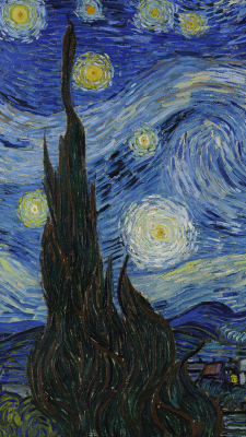Lockscreens Starry Night Van Gogh Starry Night Wallpaper Van Gogh Wallpaper