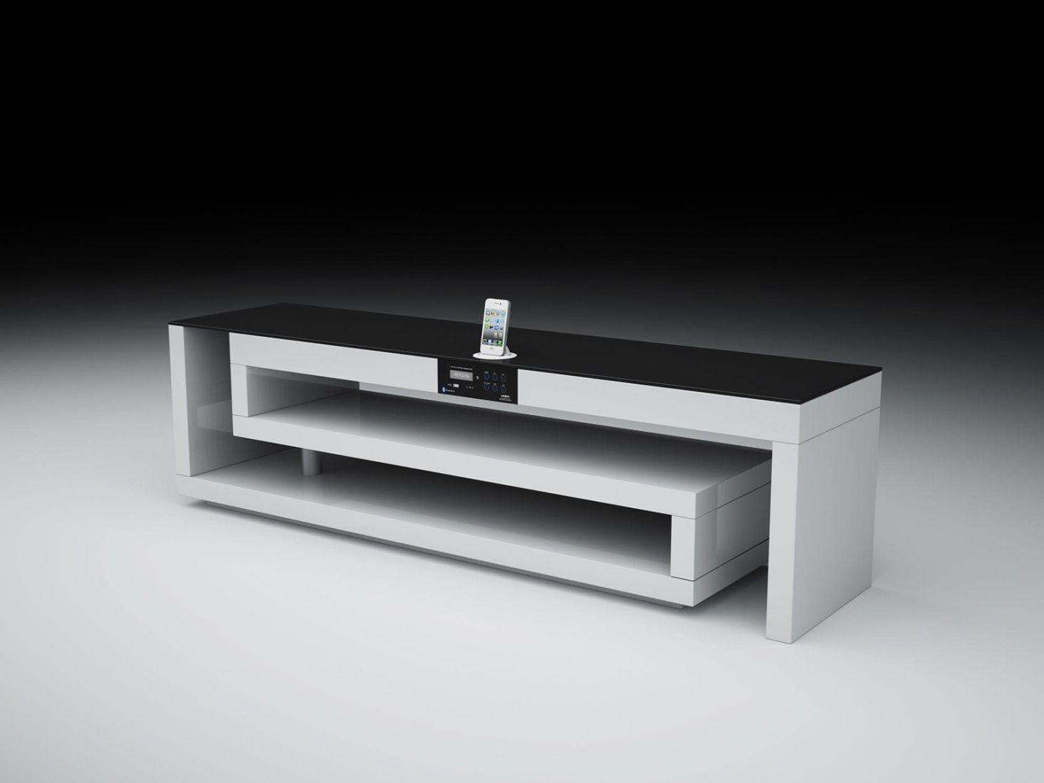 tv moebel design weiss schlafzimmer romantisch - Design Mobel Wohnzimmerschrank