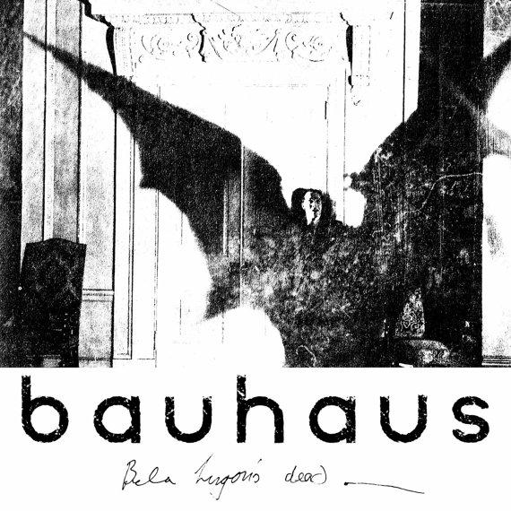8801c9b8916 Bauhaus album cover art Bela Lugosi is Dead vampire print Dracula poster  goth gothic Love and Rocket