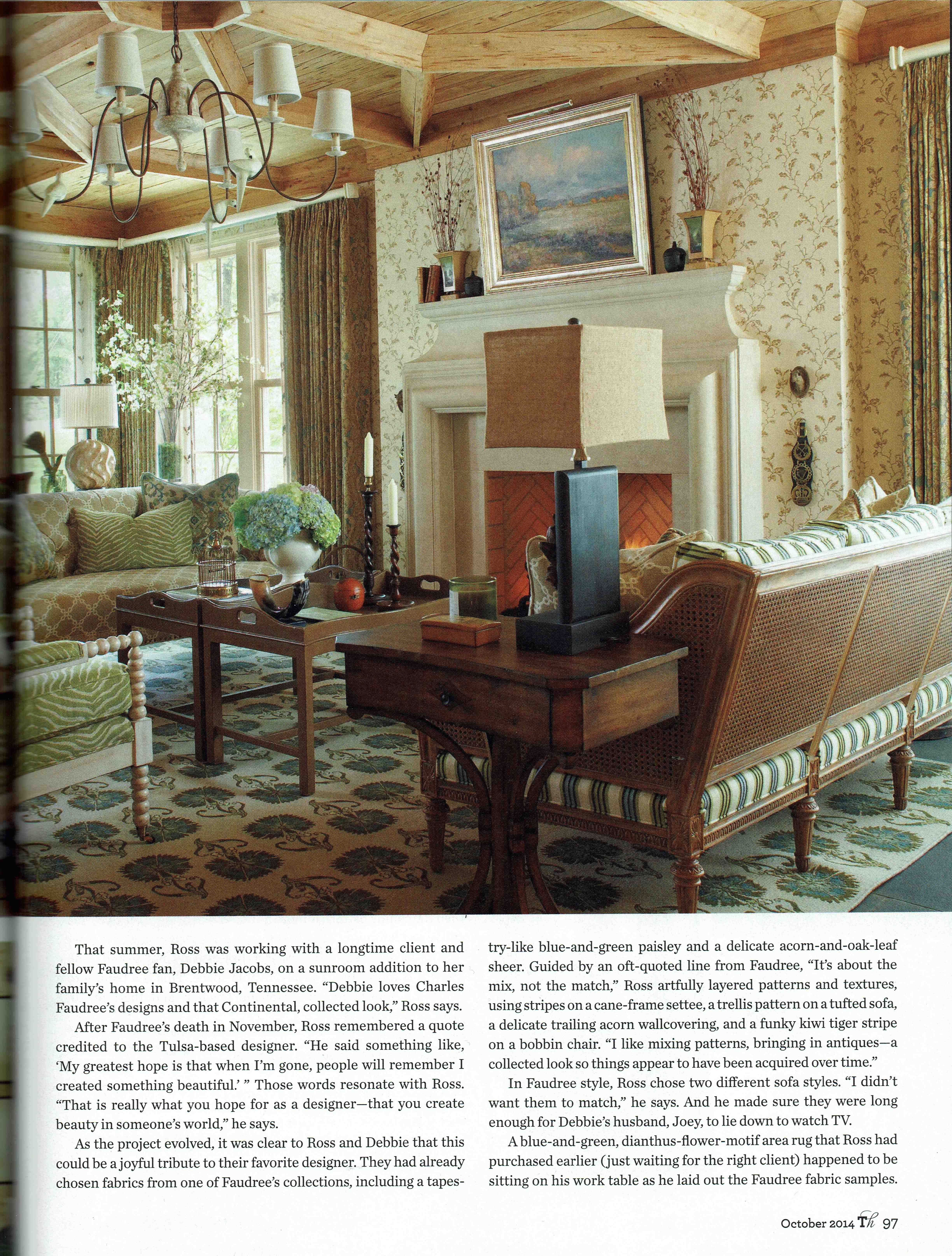 October 2014 Traditional Home Master Of The Mix With Images