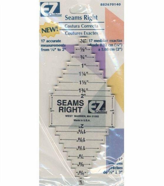 Wrights®/EZ Quilting Seams Right Measurement Tool at Joann.com ... : quilting measuring tools - Adamdwight.com