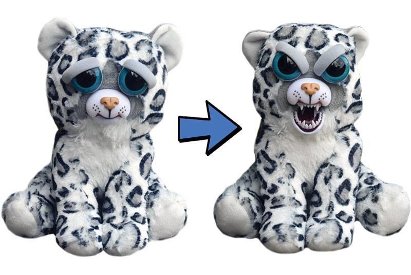 Feisty Pets Tigre Blanc Pas Chere Petites Peluches Qui Font Peur Animal Dolls Soft Stuffed Animals Plush Animals