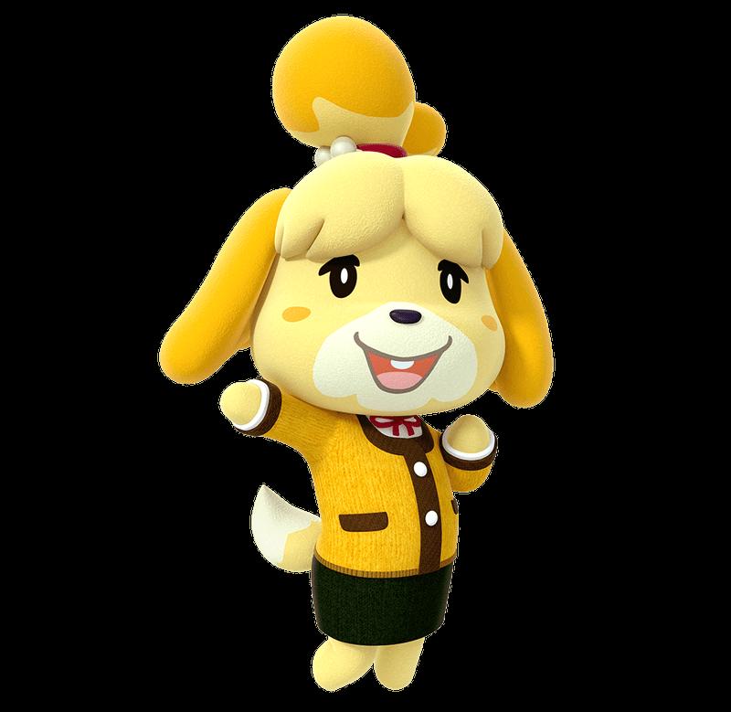 Isabelle Animal Crossing Play Nintendo Animal
