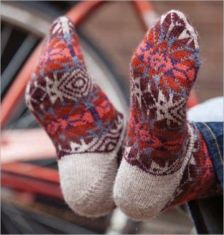 Bandelier Socks | InterweaveStore.com | Knitting and Crochet ...