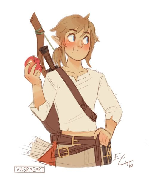some BotW link doodles bc he's adorable                                                                                                                                                                                 More