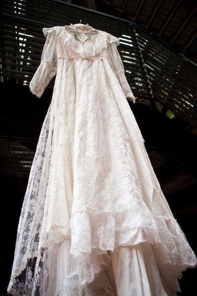 Vintage Lace Wedding Garter Bridal Gown Shower Present