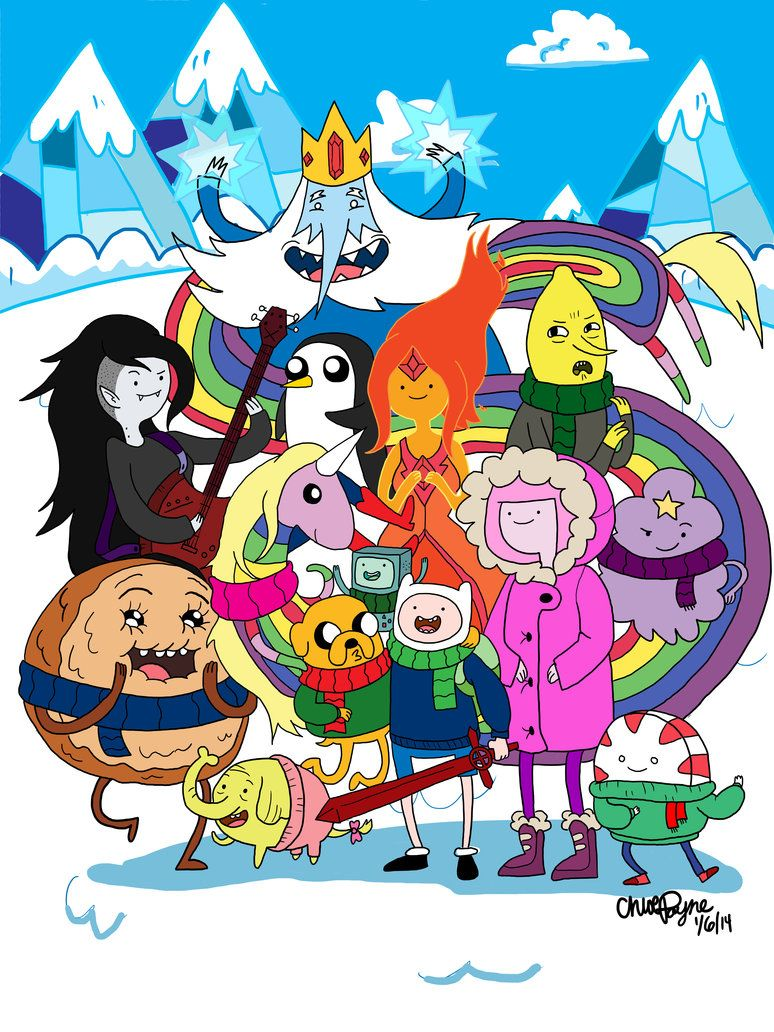 Adventure Time Come On Grab Your Winter Clothes Adventure Time Cartoon Adventure Time Characters Adventure Time Wallpaper