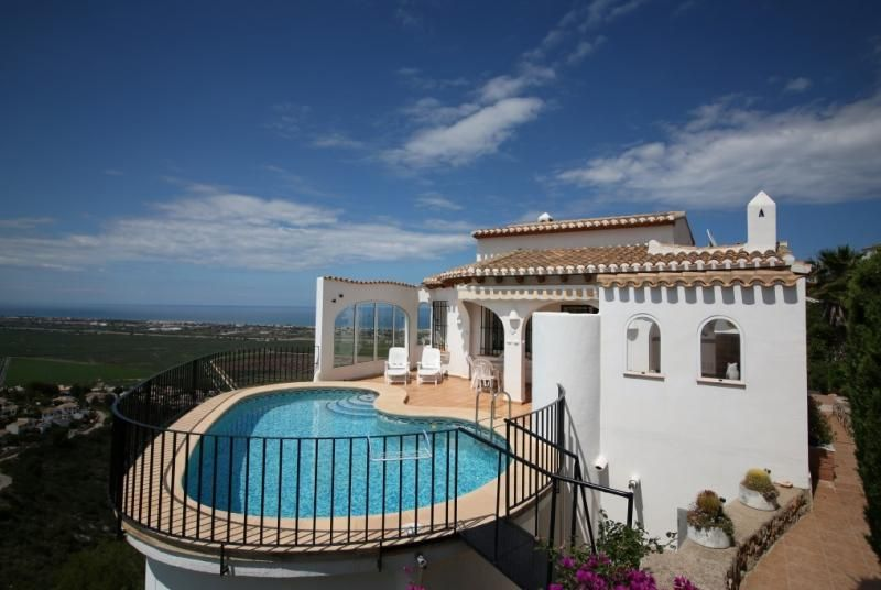 Holiday home Pego Costa Blanca Villa Spain for rent Oracle Villas