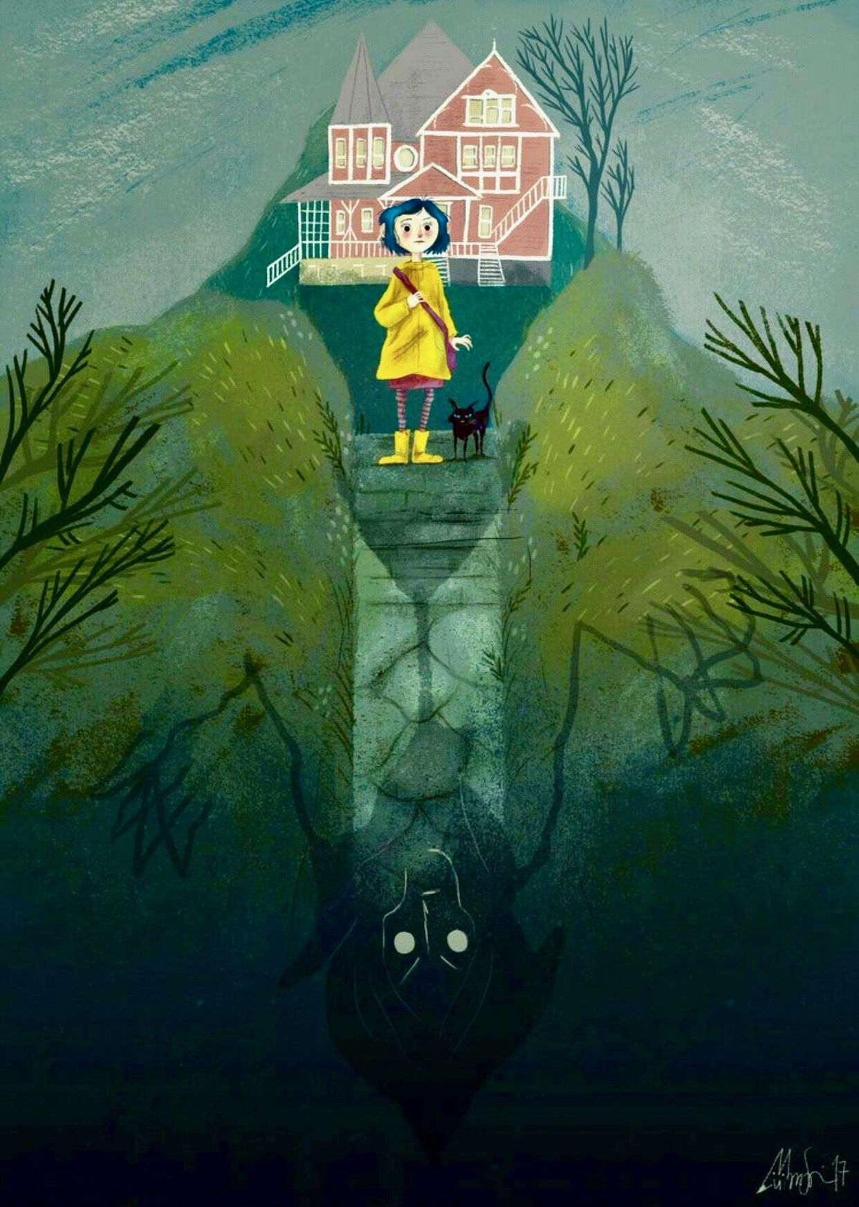 Pin By Book Lover 3 On Cartoons Of My Heart Coraline Art Coraline Coraline Aesthetic