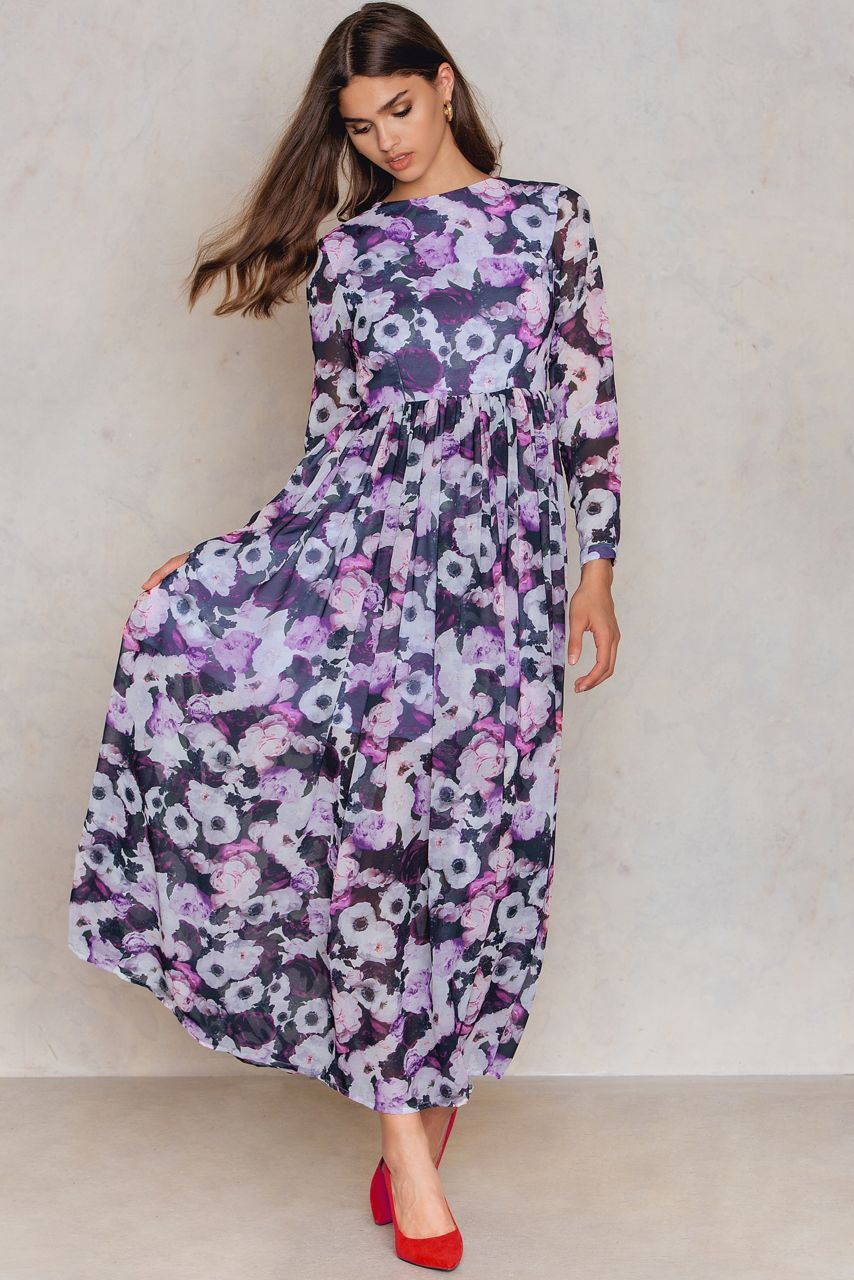Floral fantasies fulfilled with this baby the printed maxi dress by