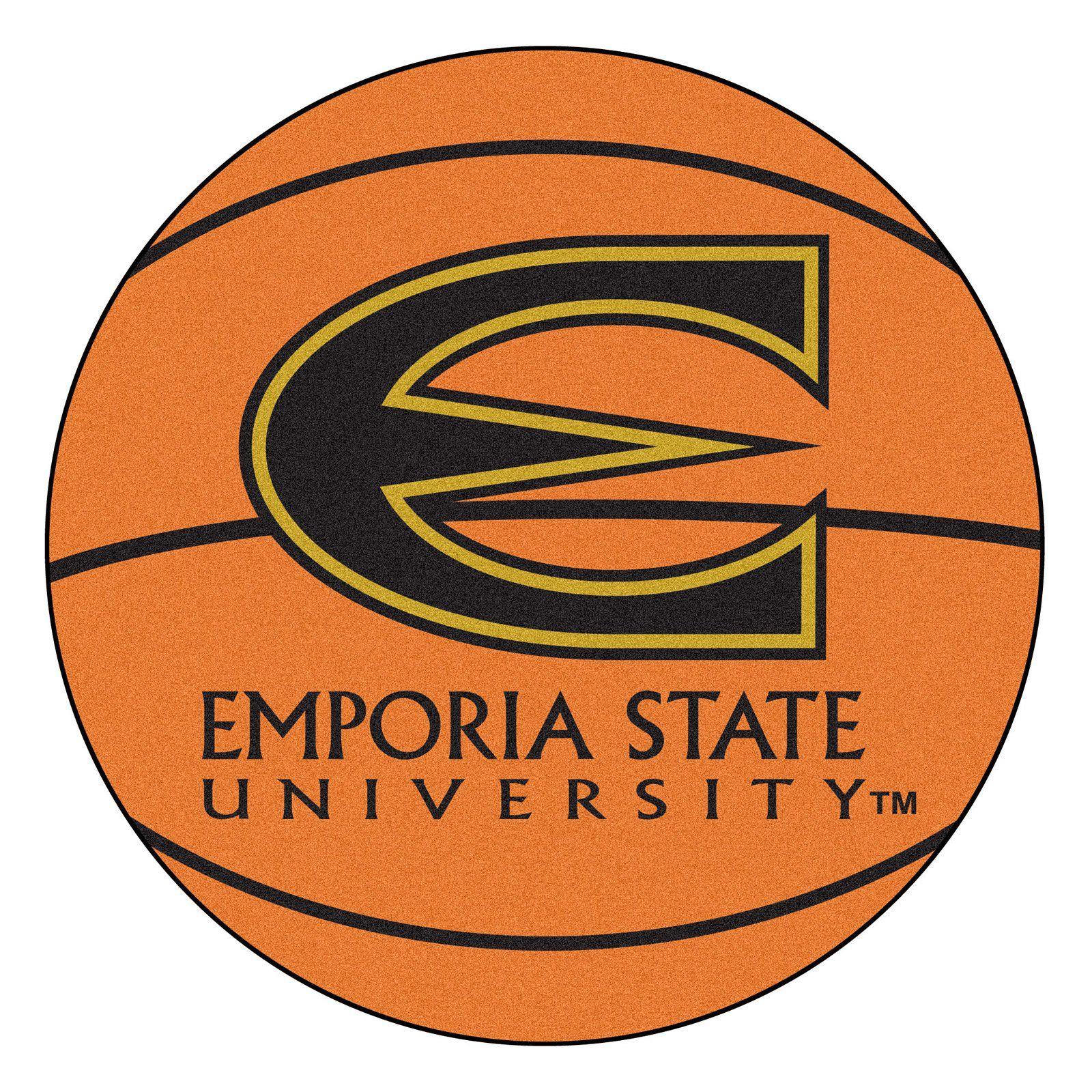 Fan Mats NCAA Collegiate Round Basketball Rug 2.25 diam