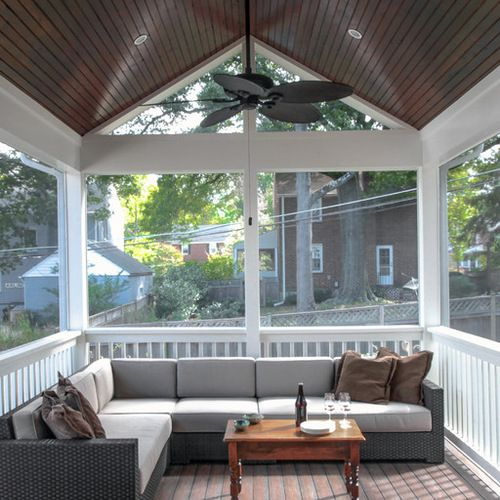 Screen Porch Deck Home Design Ideas, Pictures, Remodel and Decor