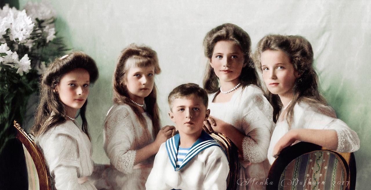 Семья романовых реальные фото из их жизни