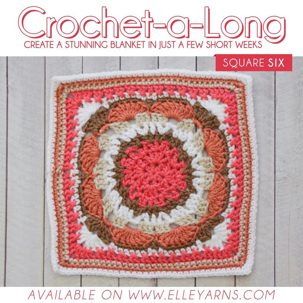 Pin de MARIE TERBLANCHE en crochet CAL blocks | Pinterest