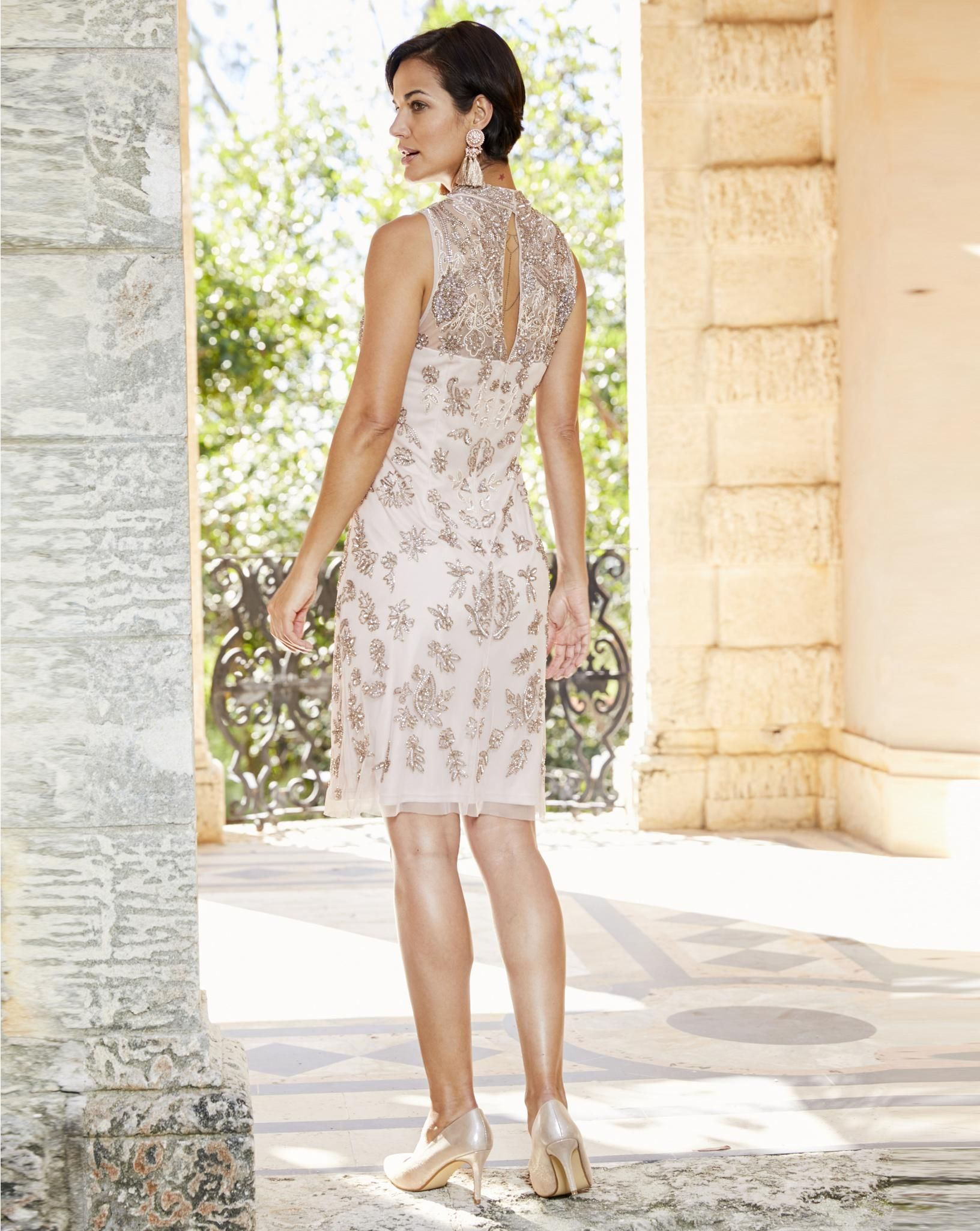 Beaded Shift Dress Jd Williams Usa Shift Dress Dresses Mother Of The Bride Dresses [ 2049 x 1632 Pixel ]