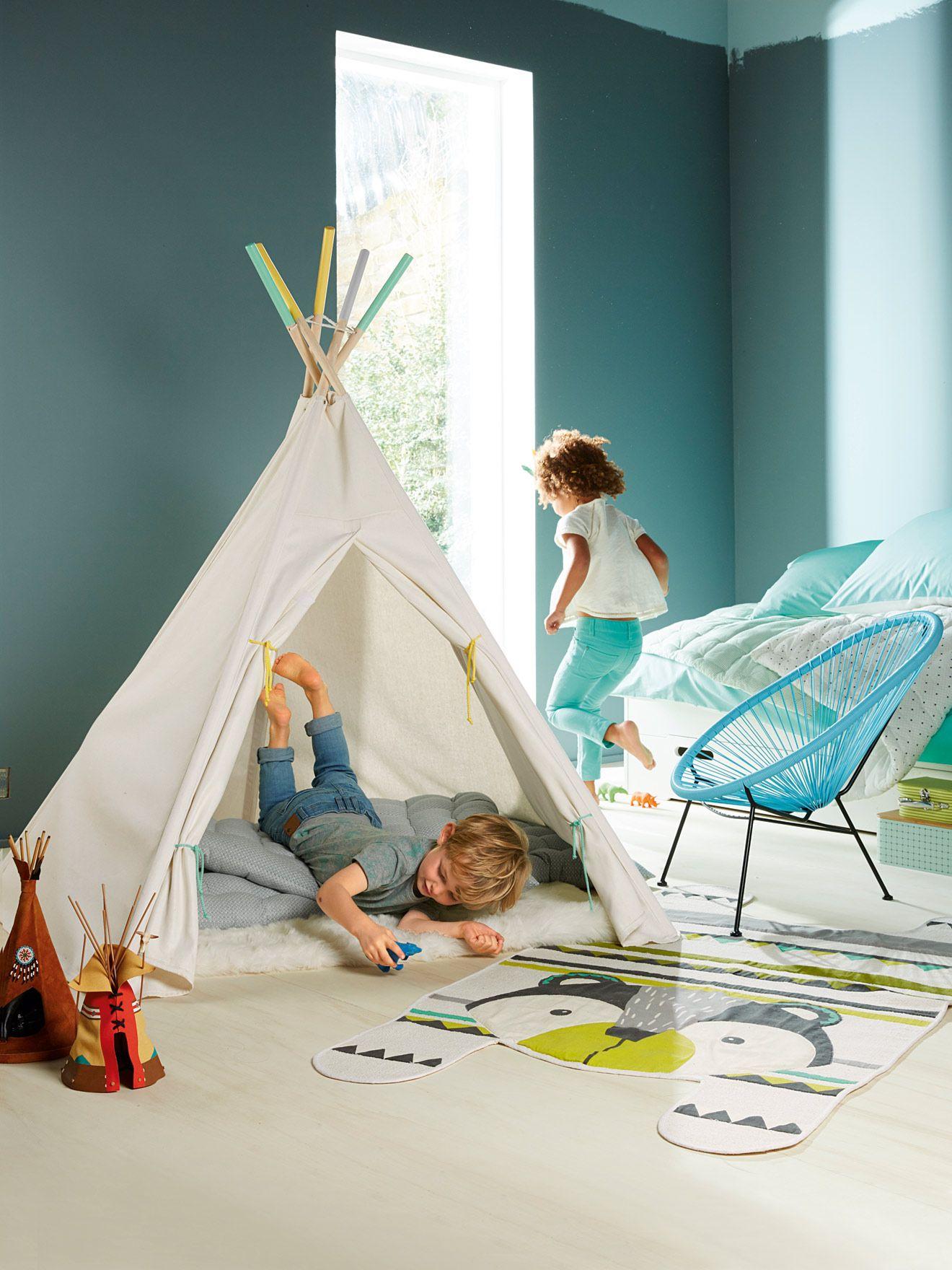 Tente Chambre Garcon en ce qui concerne tente #tipi #teepee #chambre #enfant - collection printemps-eté