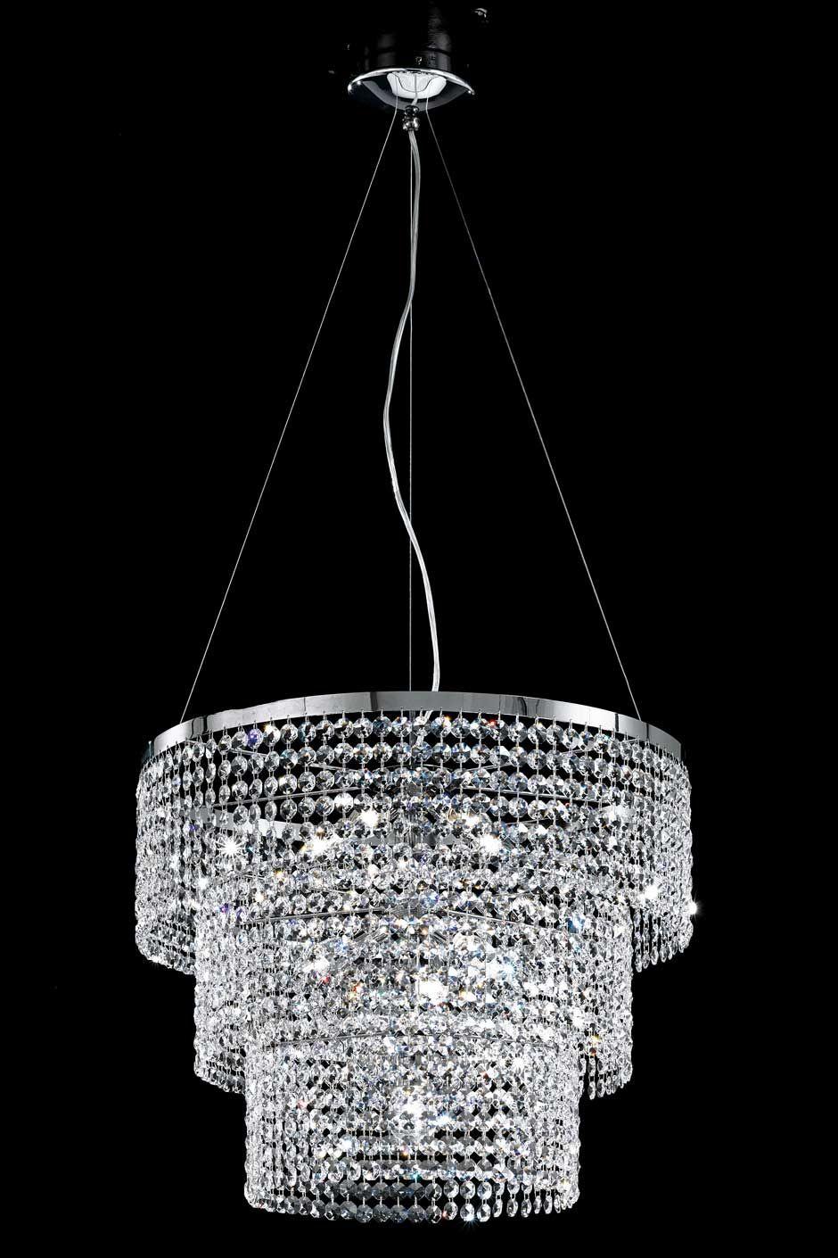 Lustre cristal contemporain recherche google d coration hogar for Mobilier contemporain luxe