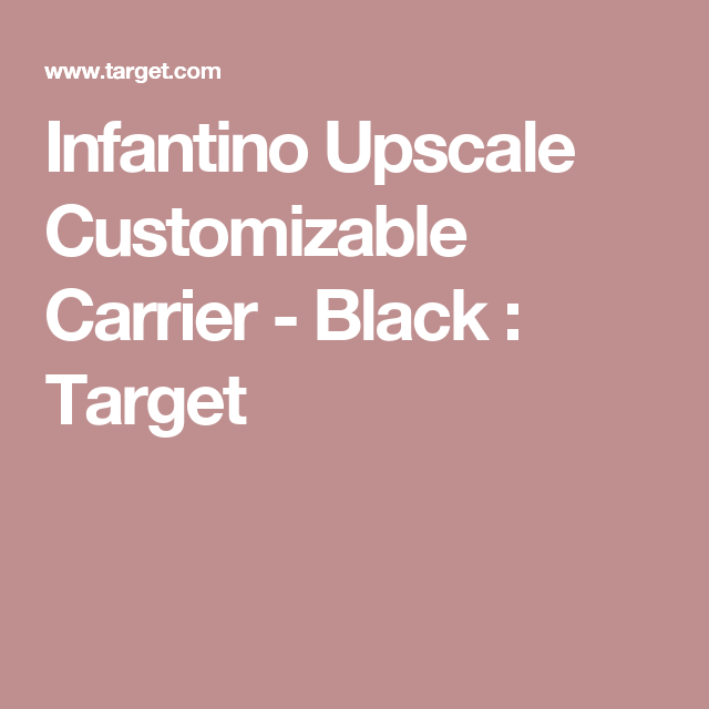 Cupcake Carrier Target Infantino Upscale Customizable Carrier  Black  Target  Christmas