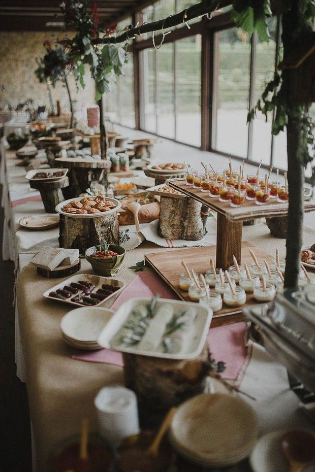 Prime Rustic Food Buffet Table Wedding Food Sweets In 2019 Download Free Architecture Designs Terstmadebymaigaardcom