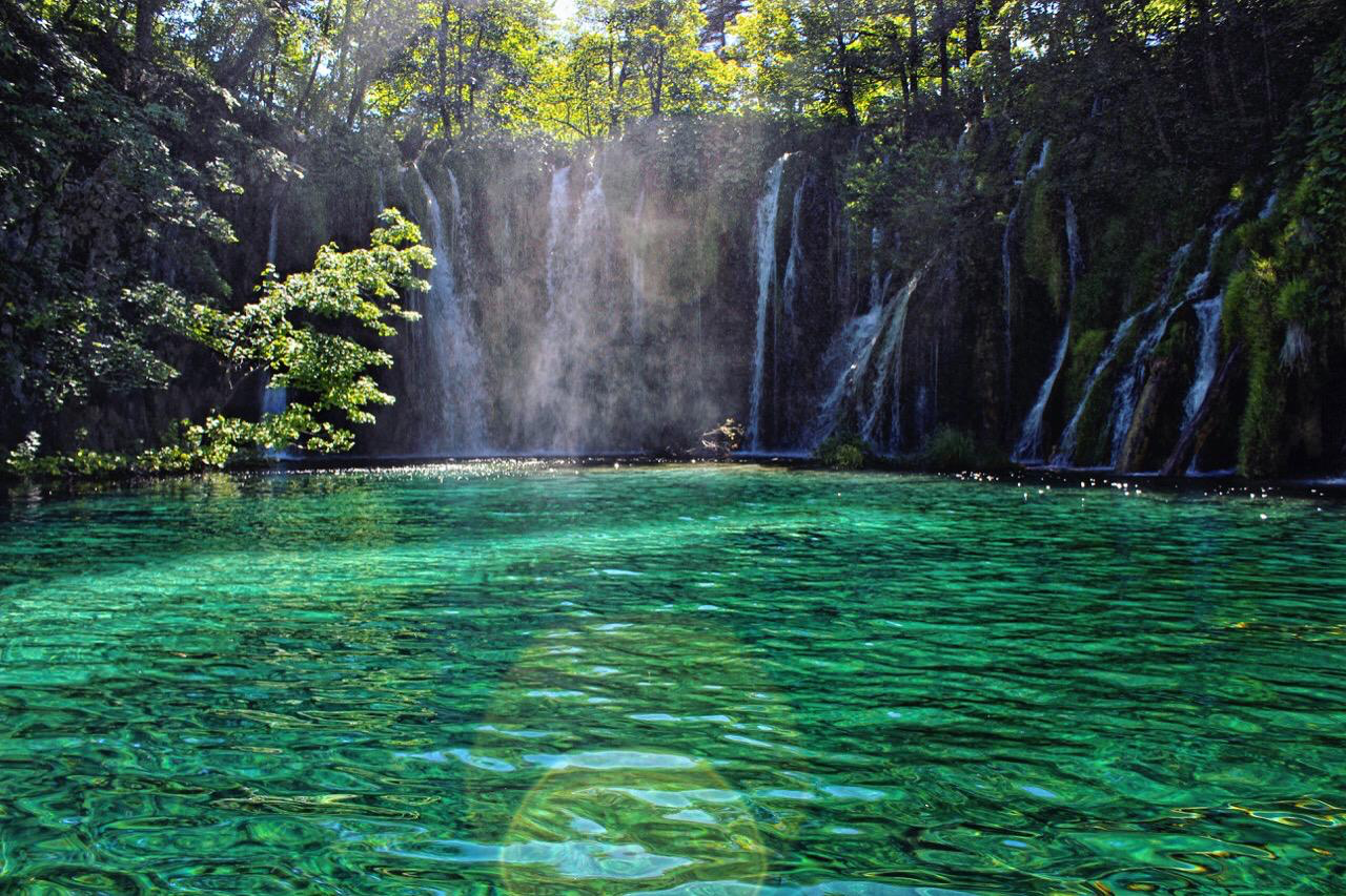 Plitvice Lakes In Split Croatia Plitvice Lakes National