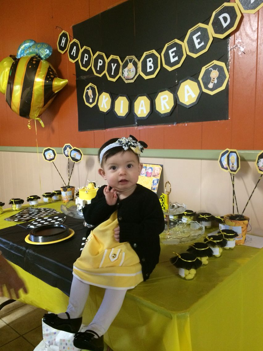 Maya The Bee Party Theme