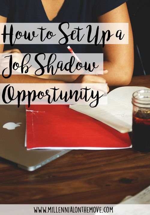 How to Set Up a Job Shadow Opportunity Opportunity, Board and Top